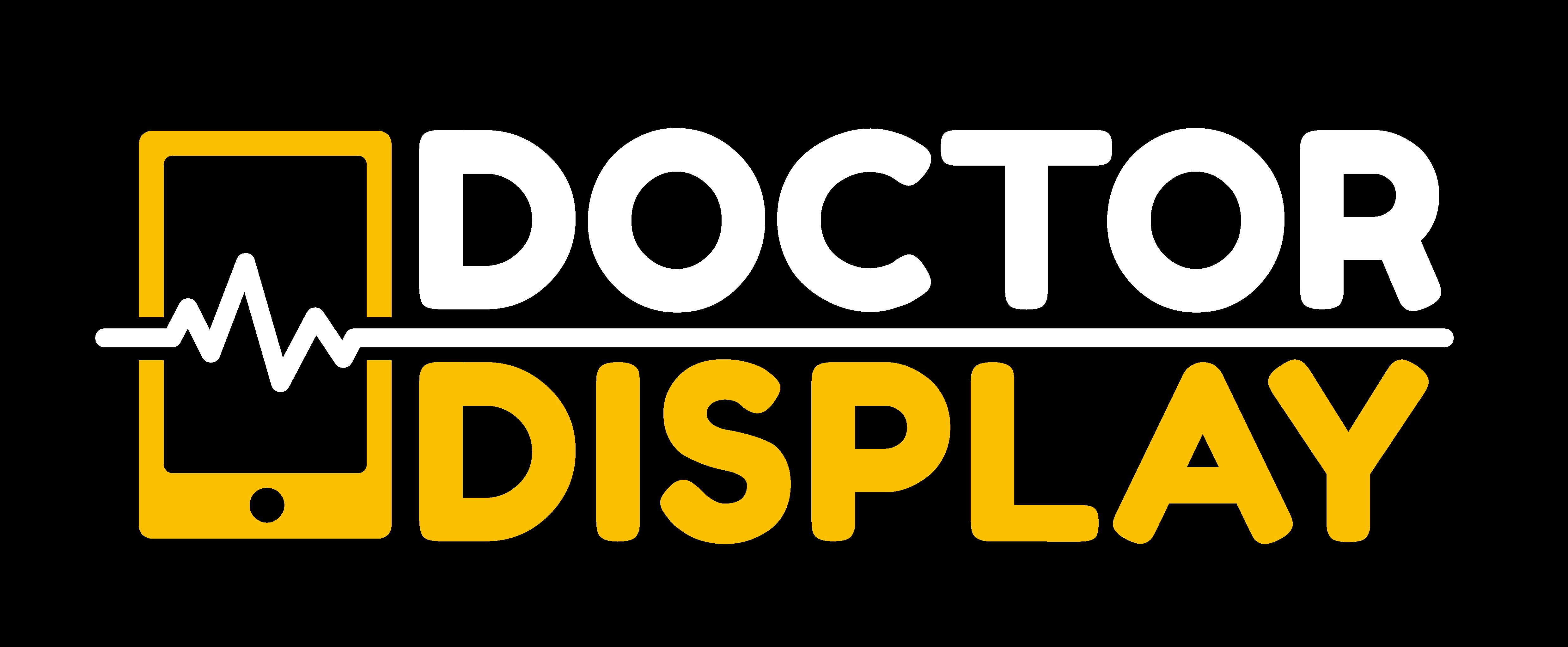 DoctorDisplay white